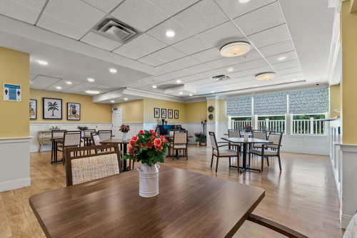 Midlothian Assisted Living Dining Room