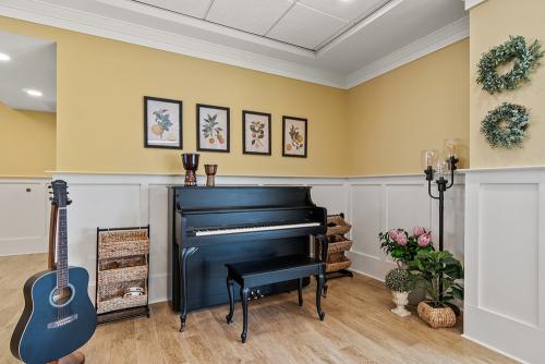 Piano at Senior Living Facility