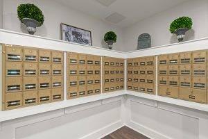 Senior Living Mail Room