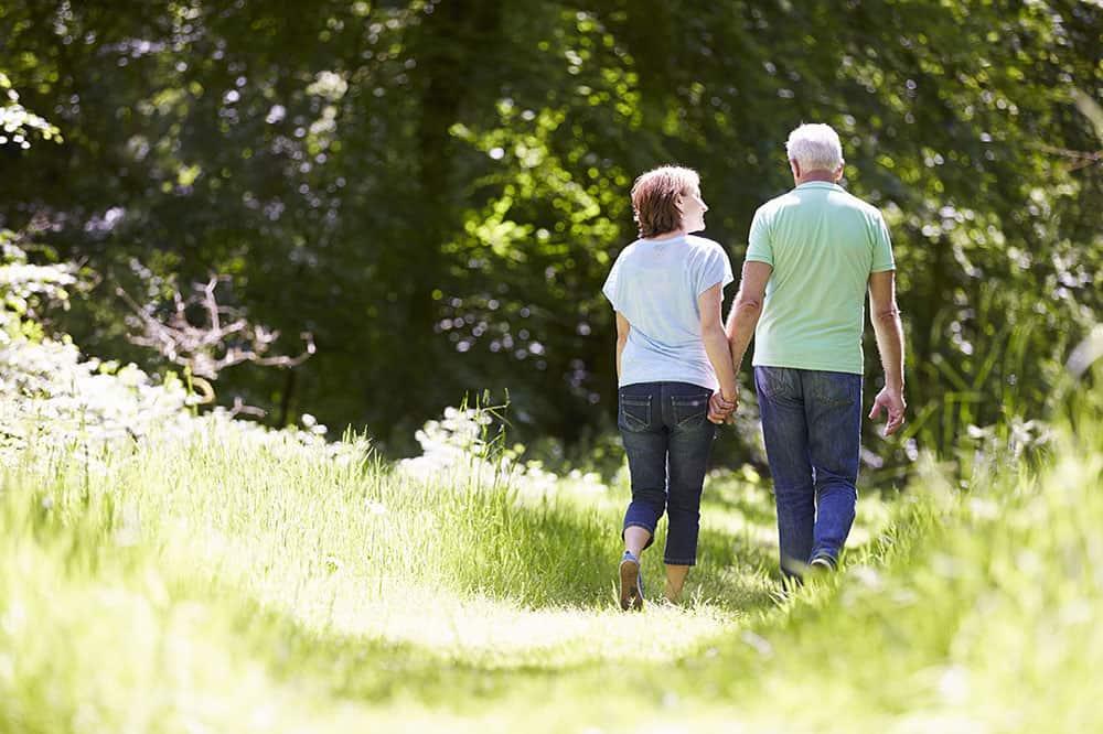 seniors walking for alzheimers